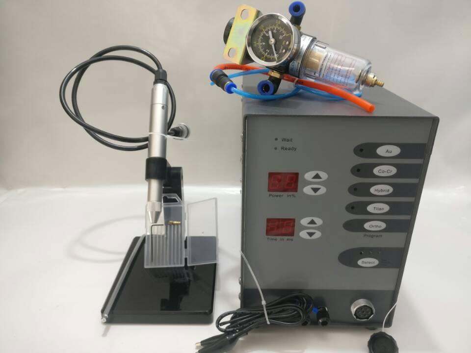 Máquina de soldadura por puntos de acero inoxidable soldadora dental argón arco dentadura máquina de soldadura