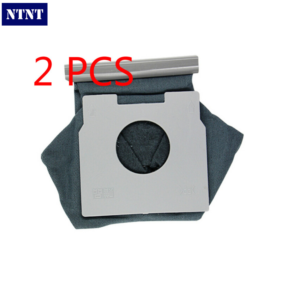 NTNT 2 PCS/Lot Vacuum Cleaner Washble Bags Cloth Dust Bag Replacement For Panasonic C20E,MC70,MC7000,MC80,MC9001 etc. 2pcs vacuum cleaner bag hepa filter dust bags cleaner bags replacement for panasonic mc cg465 mc cg661 mc cg663 mc cg665