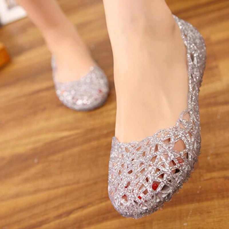 Sandalias de mujer 2018, nuevos zapatos de verano para mujer, Sandalias informales de malla para mujer, Sandalias femeninas a la moda para mujer