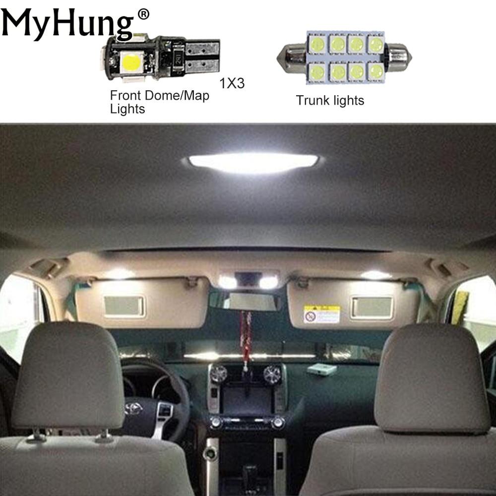 Okrasne luči za avtomobile z LED lučmi C10W W5W za Skoda hitro - Avtomobilske luči - Fotografija 1