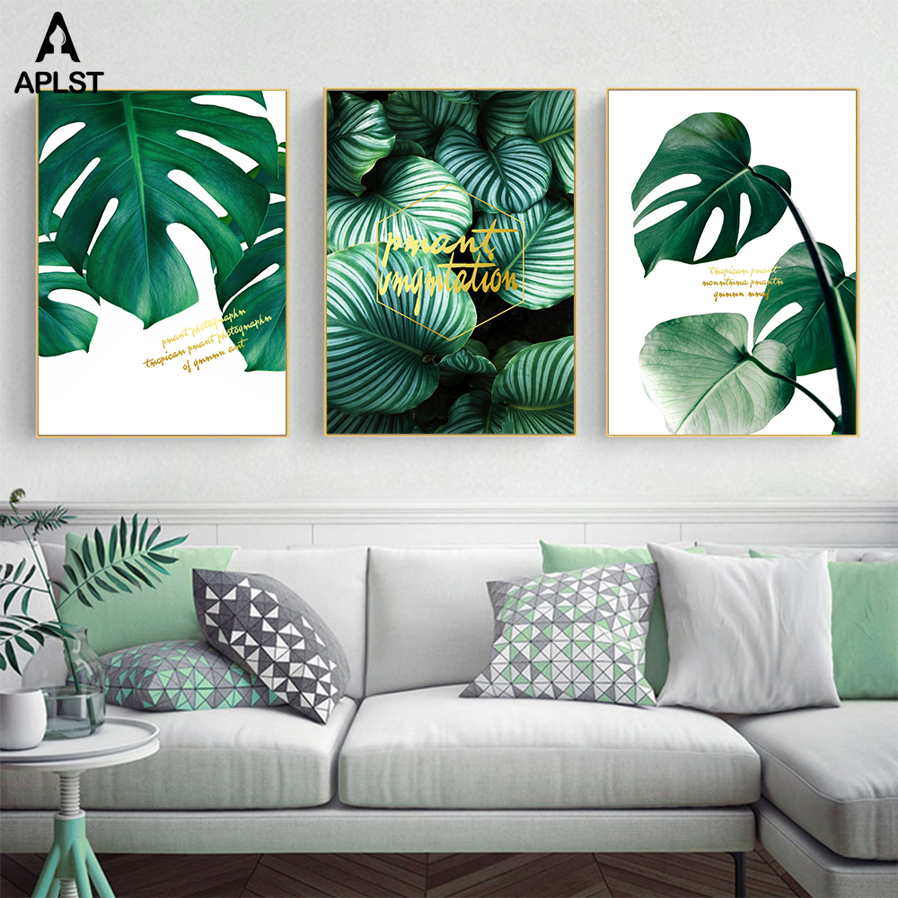 Monstera Leaves Set Tropical Leaf Prints Palm Leaf Wall Art Decor Plants Botanical Print Canvas Modern Picture Home Decoration Buy At The Price Of 2 51 In Aliexpress Com Imall Com 15 tropical leaves clip royalty free professional designs for business and green monstera deliciosa leaf illustration, swiss cheese plant leaf houseplant plant leaves, leafy flowers you can transform any boring room in just seconds with our wall decals. monstera leaves set tropical leaf