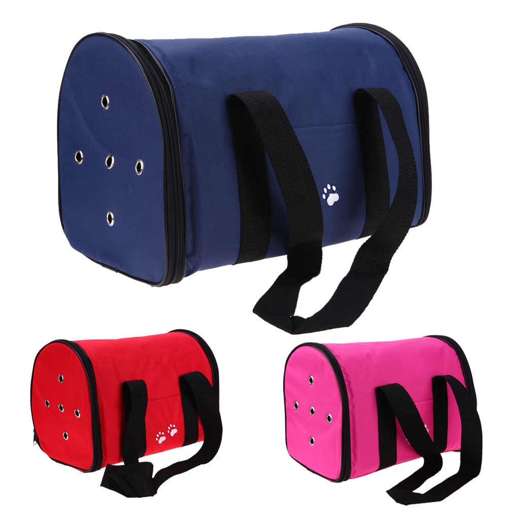 Outdoor Foldable Waterproof Oxford Pet Bag Cat Dog Carrier Dog Supplies Cat Carrier Backpack Front Chest Bag Dog Supplies E5m1