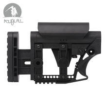 LUTH MBA-4 MBA-3 AEG Stock For Paintball Accessories Tactical CS Sports Wells M4 Gearbox(China)