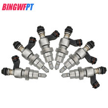 Inyector de combustible Original (usado) 6 unids/set reacondicionado y probado/inyección para Toyota Avensis FRAV4 OPA 23250-28030 23209-28030