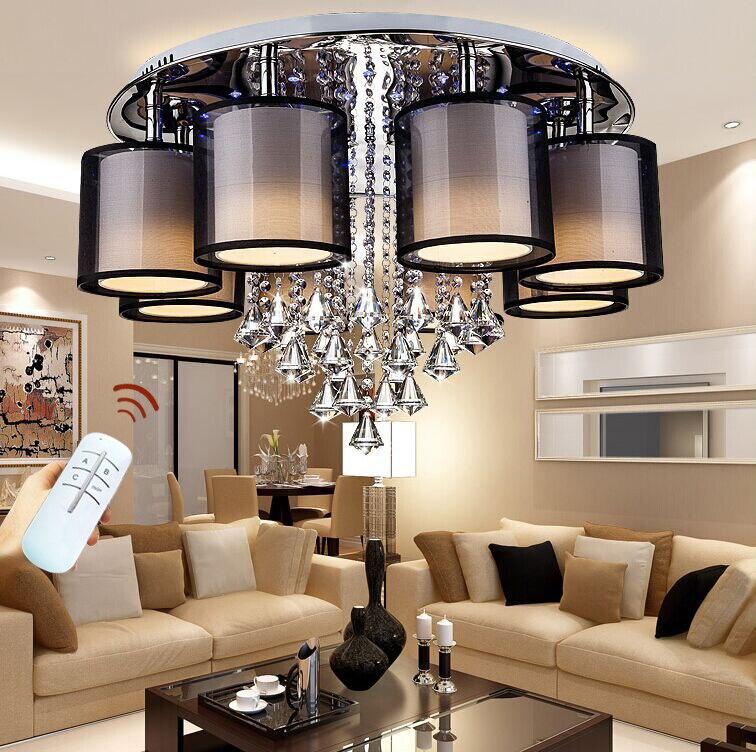 GroBartig Gut 2018 Aufbau Moderne Led Deckenleuchten Für Wohnzimmer Leuchte  Innenbeleuchtung Dekorative Lampenschirm Kostenloser Versand