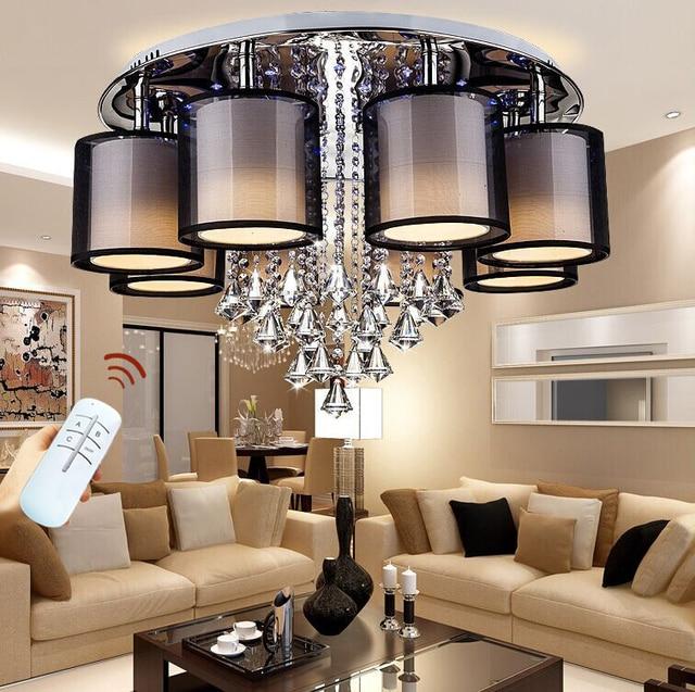 2018 Aufbau Moderne Led Deckenleuchten Für Wohnzimmer Leuchte  Innenbeleuchtung Dekorative Lampenschirm Kostenloser Versand