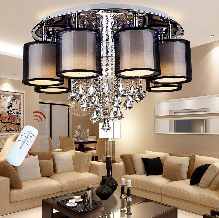 2018 surface mounted modern led ceiling lights for living room light fixture indoor lighting. Black Bedroom Furniture Sets. Home Design Ideas