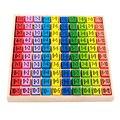 Монтессори Образования Деревянные Игрушки Блок Раз Таблица для Детей Обучающие Игрушки Многоцветный Ребенок Подарок