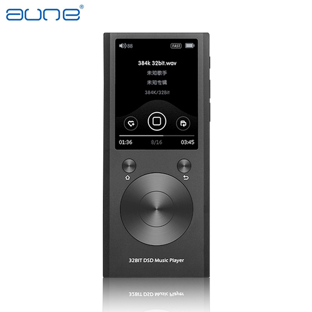 New Aune M1S Portable Professional Lossless Music MP3 HIFI Music Player DAP Supported WAM/FLAC/DSD/APE/MP3/ALAC/AAC