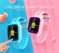 DS28 Kids Waterproof Smart Watch GPS WIFI GPRS Positioning SOS 2G Call Monitoring Anti lost Tracker Alarm Secure English Russian
