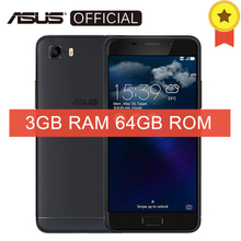 Asus Zenfone Pegasus 3s max ZC521TL Front Touch ID Android 7.0 MTK6750 Octa Core 3GB RAM 64GB ROM 5.2 Inch 5000mAh Smartphone