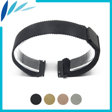 Stainless Steel Watch Band 22mm for Amazfit Huami Xiaomi Smart Watchband Magnetic Clasp Strap Quick Release Loop Belt Bracelet