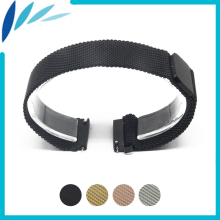 Stainless Watch Band 20mm 22mm for Amazfit Huami Xiaomi Smart Watchband Magnetic Clasp Strap Quick Release