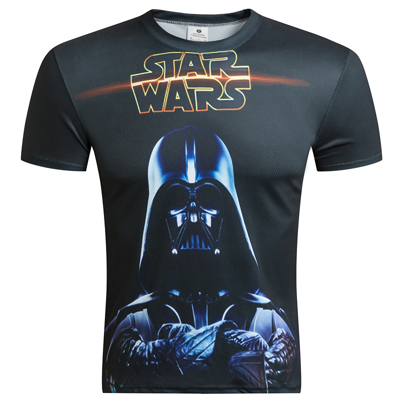 Newest 3D Printed star wars t shirt Men Women Summer Short Sleeve Funny Top Tees Fashion Casual clothing Asia Size SWG T-shirt