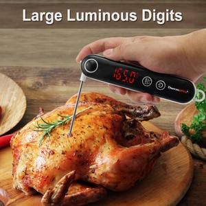 Image 5 - Thermopro TP18 デジタル食品調理熱電対温度計超高速インスタント読む肉温度計触れることができるボタン