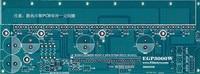 Pure Sine Wave EGP3000W Three Phase Inverter Power Bottom PCB Board