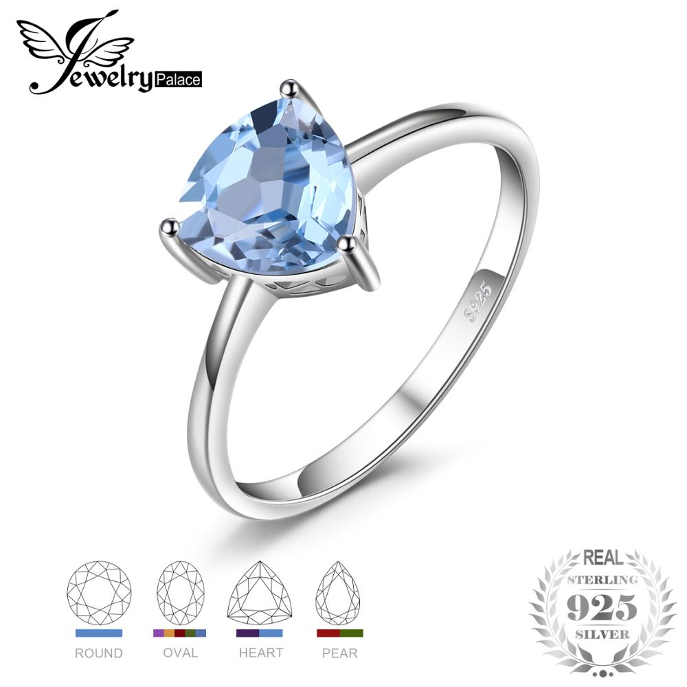 JewelryPalace Ring 1.5ct Natural Blue Topaz Garnet Amethyst Citrine Birthstone 925 Sterling Silver 925 Jewelry Engagement RingJewelryPalace Ring 1.5ct Natural Blue Topaz Garnet Amethyst Citrine Birthstone 925 Sterling Silver 925 Jewelry Engagement Ring