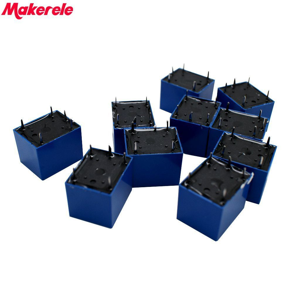 Hot 10 pcs DC 5V Coil 7A 240VAC 10A 125VAC 28VDC 5 Pins SPST Power Relay JQC 3F in Relays from Home Improvement