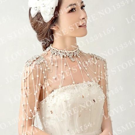 Платье жемчуг плечи