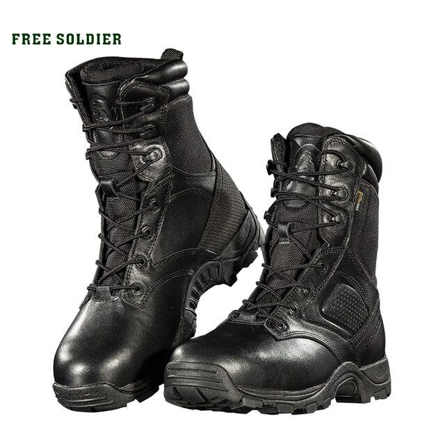 FREE SOLDIER тактические сапоги восьмидюймовая крепкая защитная обувь с высокой голенью для мужчин Локальная доставка
