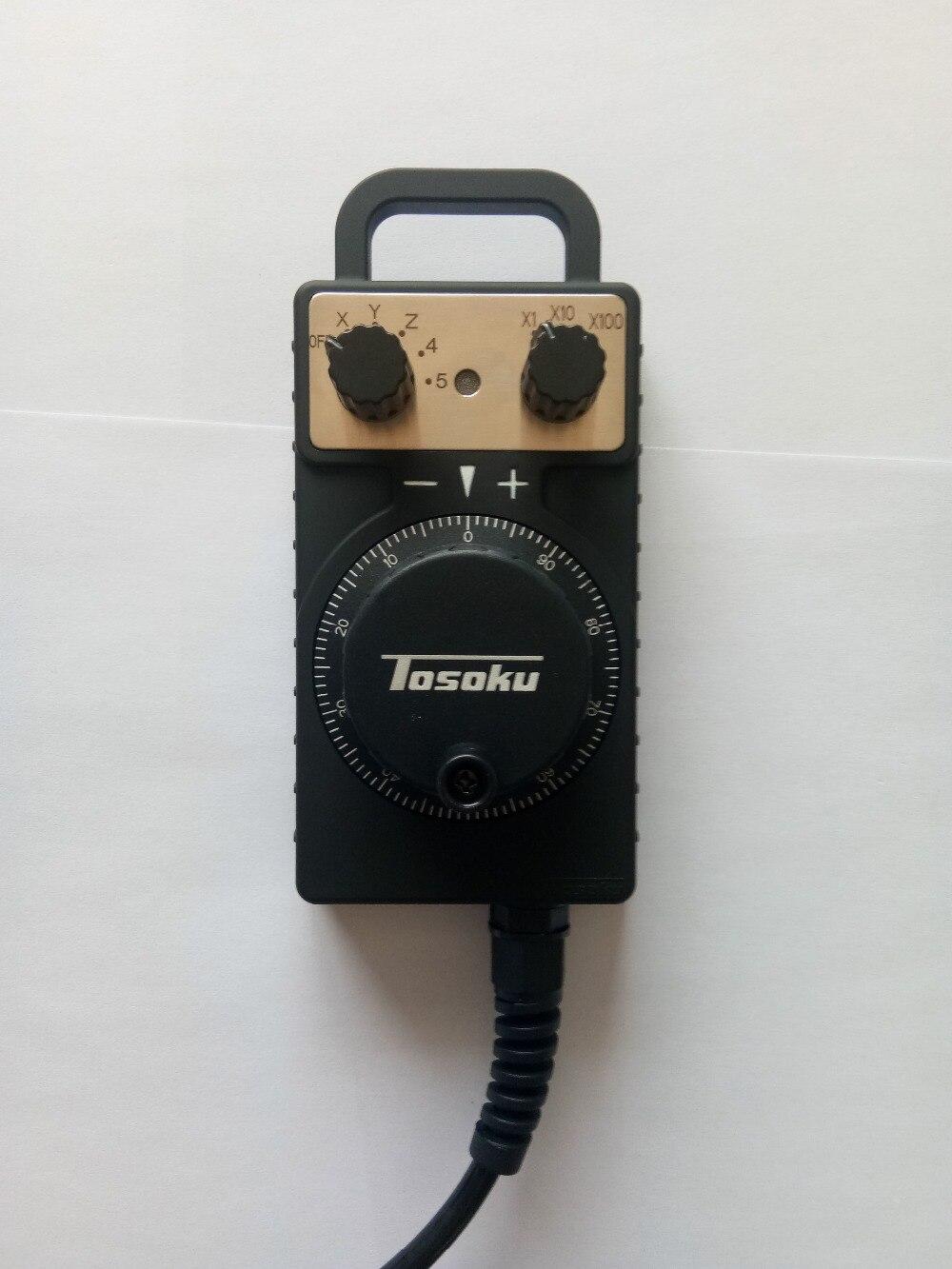 Tosoku HC115 ручной импульсный генератор электронный маховик для станка с ЧПУ ручное колесо оптовая продажа с фабрики, ручное колесо с ЧПУ