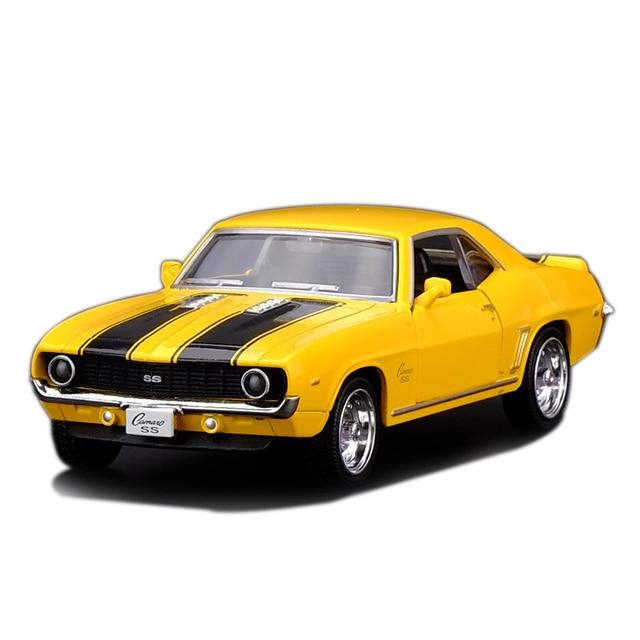 Brand New Rmz City 1 36 Scale Chevrolet Camaro Ss 1969 Metal Cast