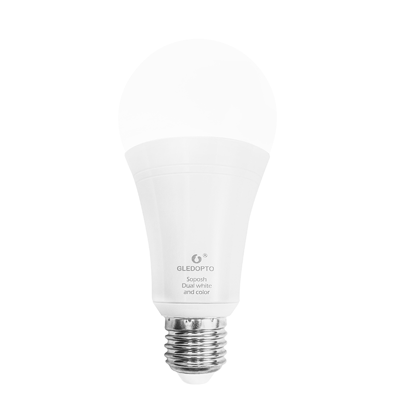 ZIGBEE 3.0 ZLL LED 12 W RGB + CCT ampoule AC100-240V rgb et double blanc e27 e26 variateur LED ampoule dimmable lampe RGBW/RGBWW travail alexa - 4