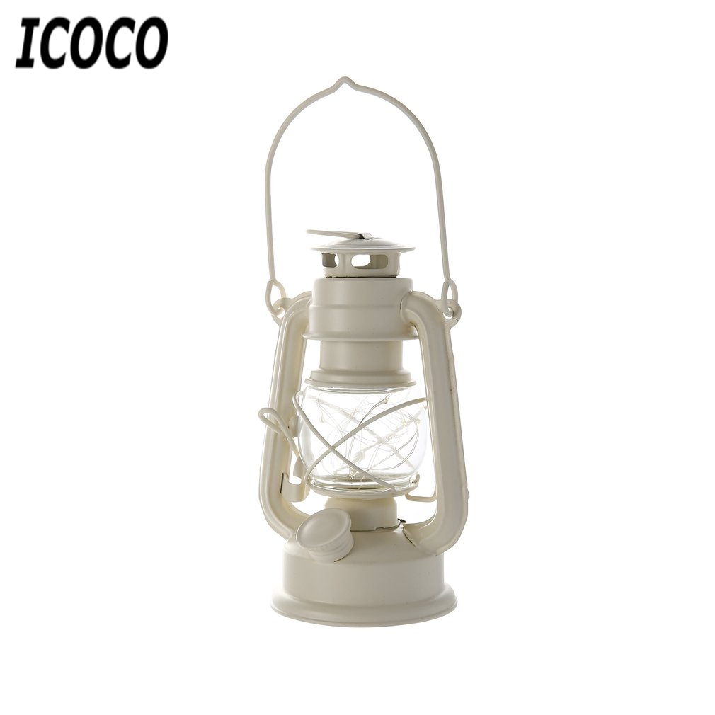 Vintage Loft Industrial Lantern Oil Pendant Lamp Fixture Droplights Horse Lamp Quality Decorative Portable Light White/Black