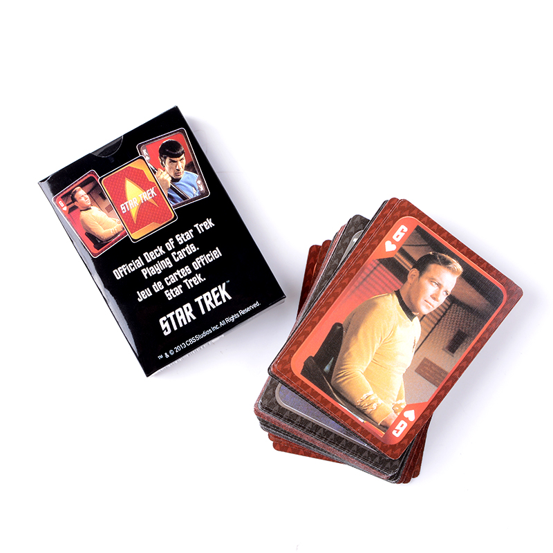Star Trek Game Playing Cards Collection Toys Free Shipping