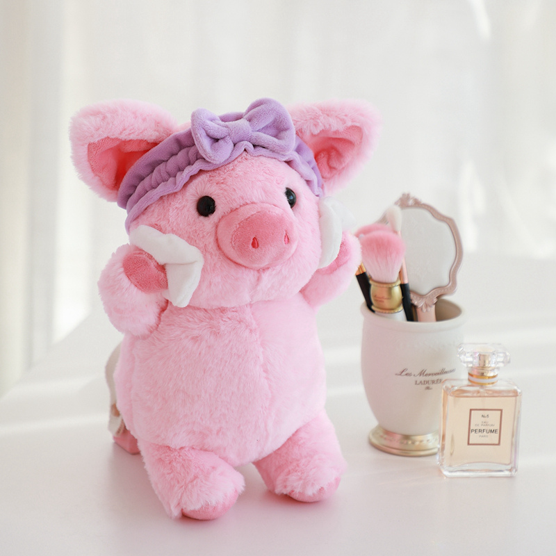 Adorable Pig Plush Toys Stuffed Animals Plush Doll Cute Stuffed Dolls for Kids Girls Car Room Decoration