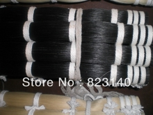 1 KG High quality Black horse tail in 32 inches