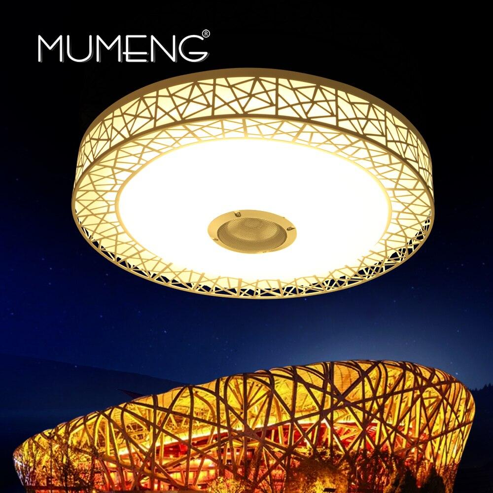 Mumeng RGB Deckenleuchte 36 Watt Dimmbare Bunte Party Lampe ...