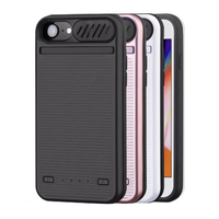 5800/8200mAh Battery Charger Case For iPhone 8 7 6 6s Plus Battery Case Small Speaker Power Bank Phone Case For iphone 6 6s 7 8