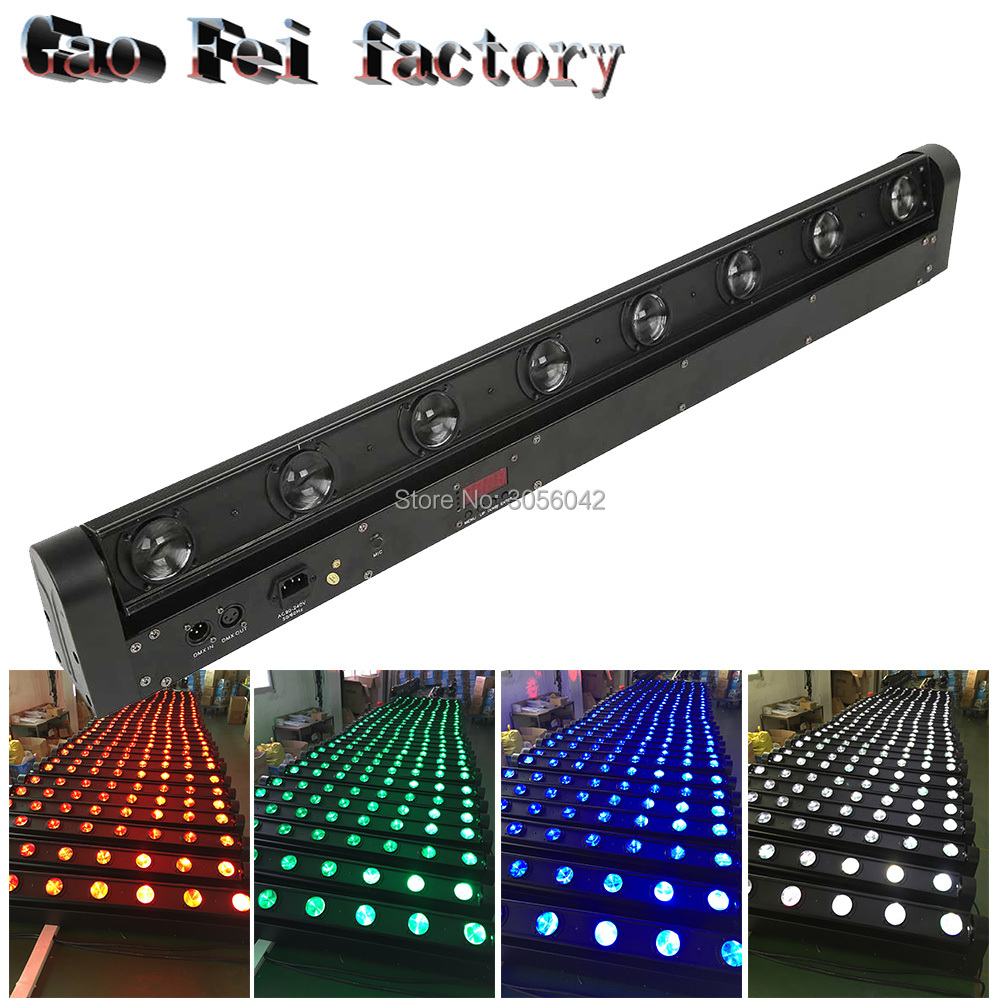 8x10w RGBW 4in1 led bar dj lighting 8 eyes beam led moving head8x10w RGBW 4in1 led bar dj lighting 8 eyes beam led moving head