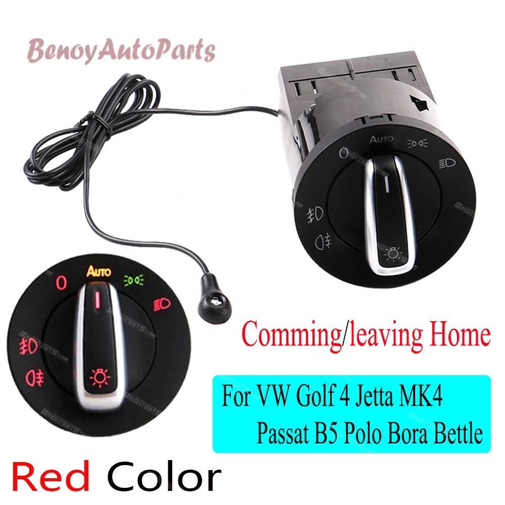 Version AUTO Headlight Lamp Switch Light Sensor Module For VW Golf Jetta MK4 Passat B5 Polo
