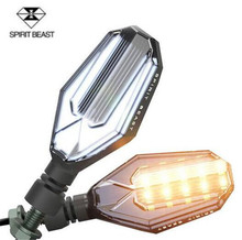 SPIRIT BEAST Spirit Beast Waterproof Led Motorcycle Light Turn Lights Single Bright Brake Universal Moto