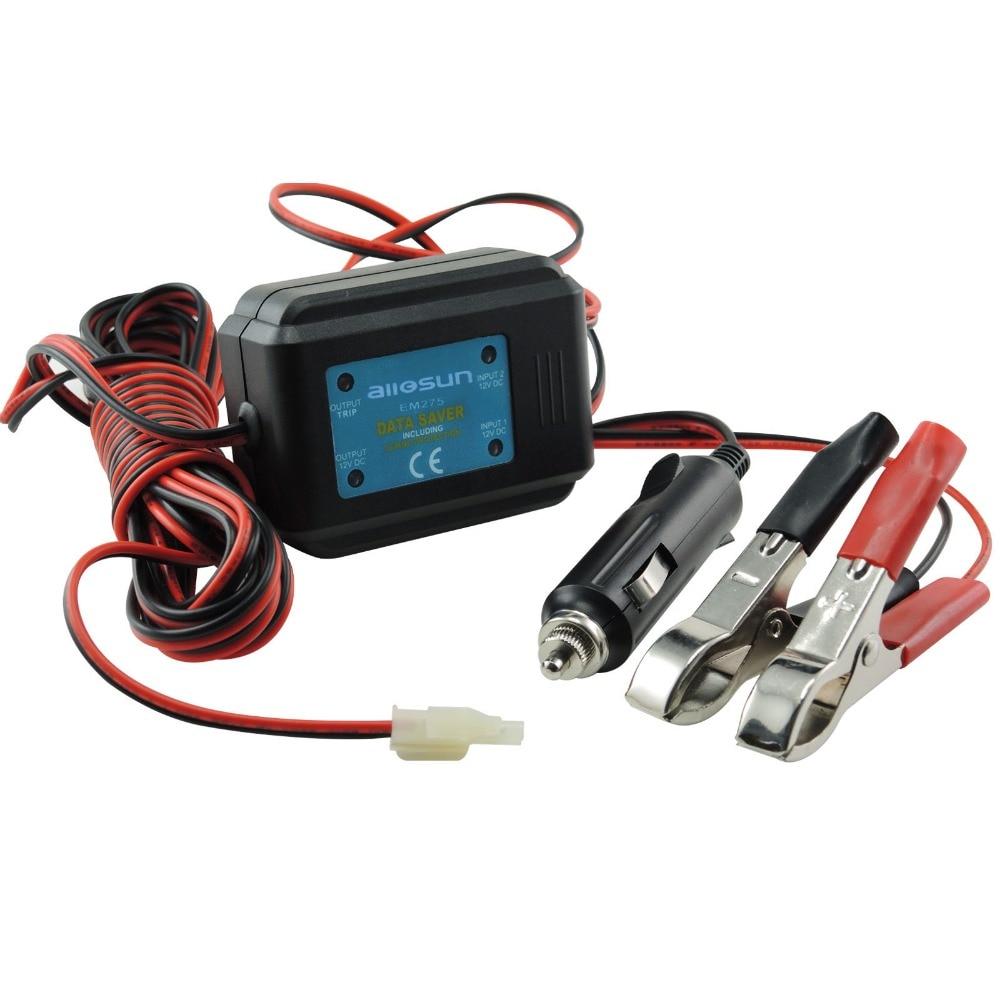 Car Data Saver 12V DC Hold Memory Code Engine Maintenance Radio Station Clock Setting