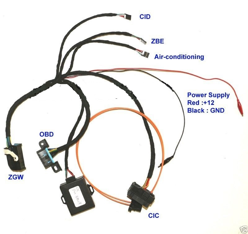 Ignition Emulator to ZGW For BMW ...