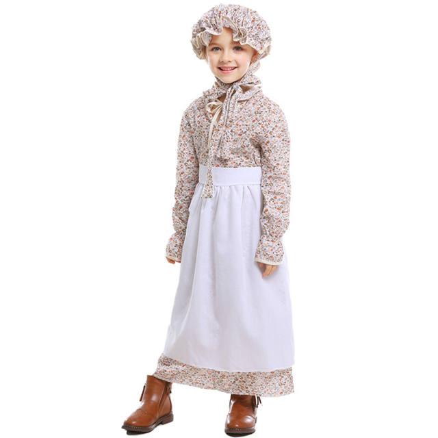 Girls Halloween Grandma Costume