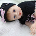 Blue Eyes 22 Inch Collectible Reborn Doll Babies Life Like Newborn Girl Dolls That Look Real Children Birthday Xmas Gift
