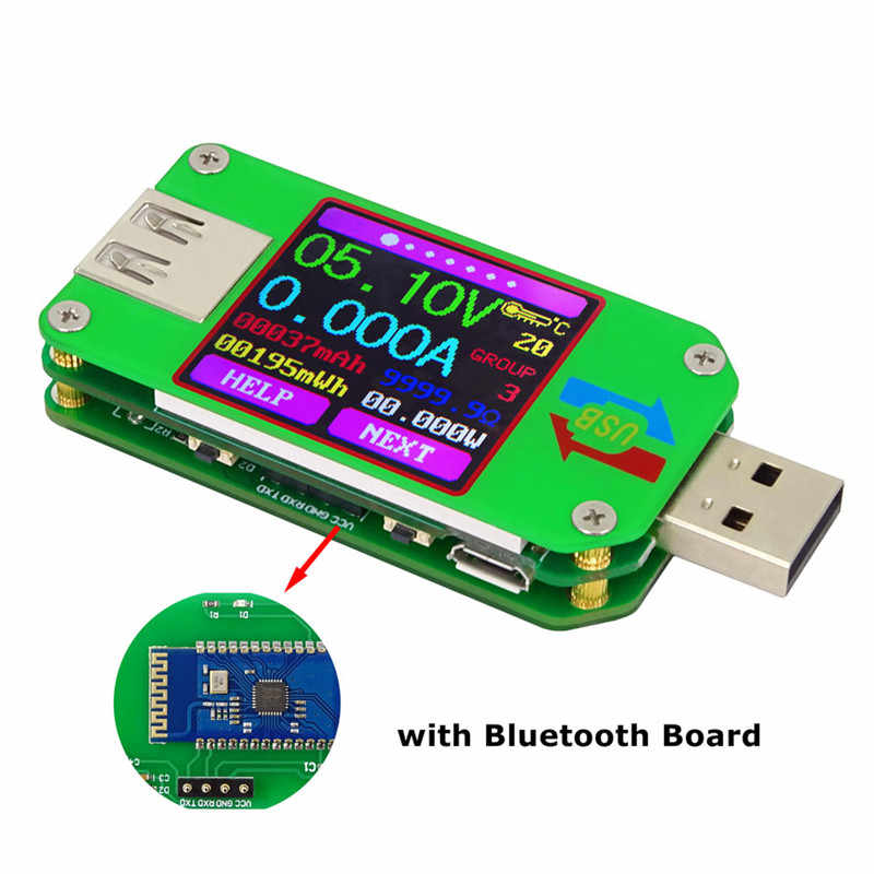UM24C 2.0 Màn USB Bút Thử Điện Áp Hiện Tại Đo Vôn Kế Amperimetro Pin Sạc Đo Cáp Kháng 45%