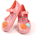 Memon VII Girls Sandals Hollow Sweet Smell Pineapple Kids Shoes  Summer US size 6-11 Sandals for Girl