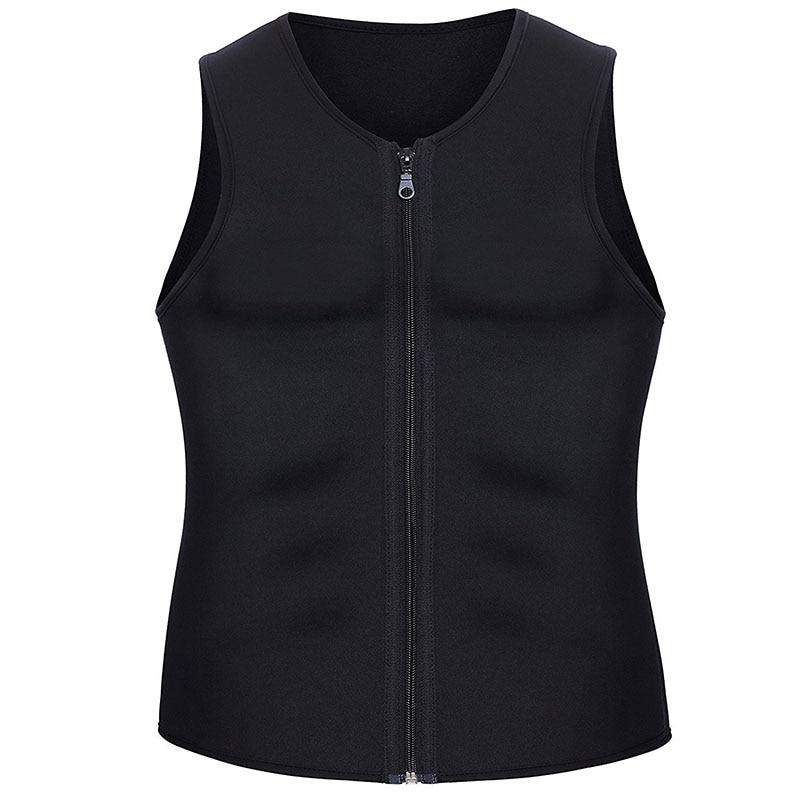 Men Sauna Running Vest Tank Tops Shapewear (5)