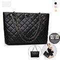 Fashion Leather Women Shoulder Bag Black Handbag Cross Pattern Women Bags 2016 Designer Handbags High Quality Bolsa Feminina