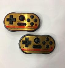 1 Pair 8 Bit MINI Doubles Handheld Classic Game Console Mini Family TV Video Game Player for kids Built in 260 Games