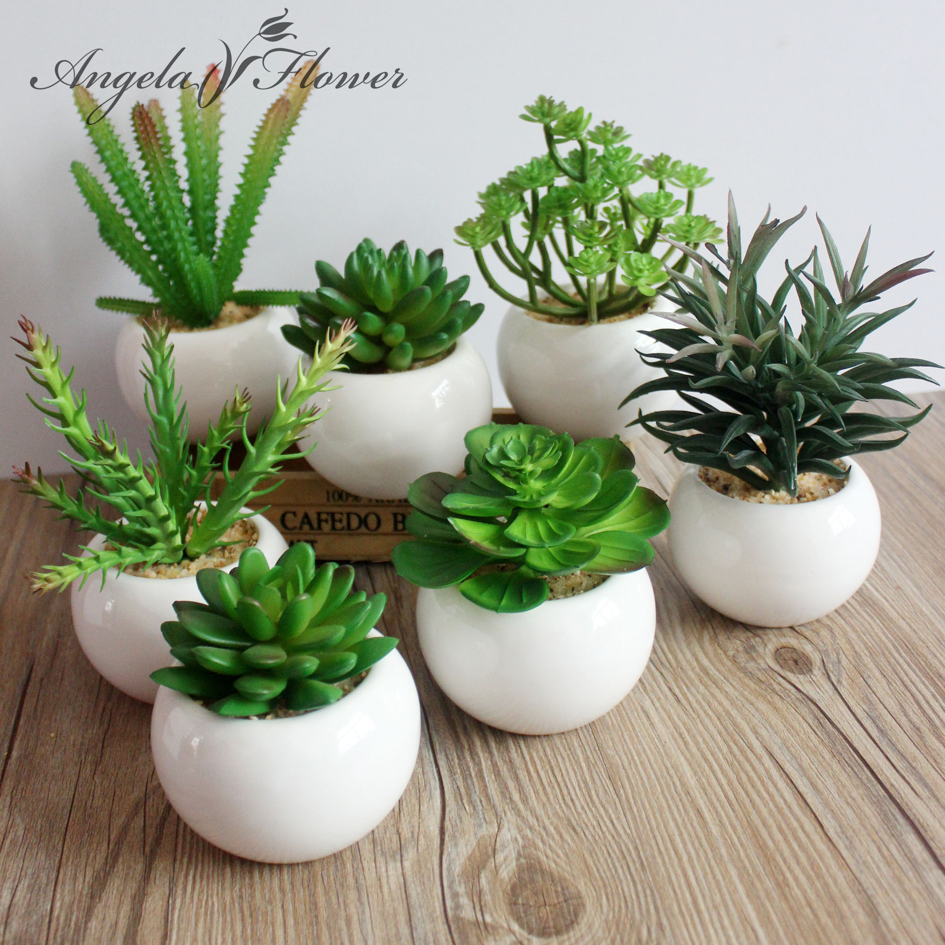 Online get cheap artificial succulents for Artificial plants for decoration