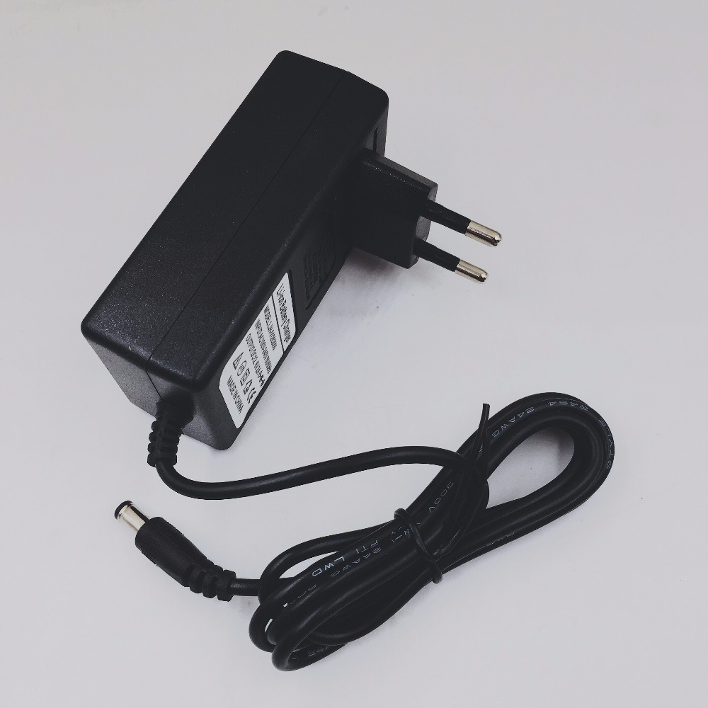 Alta quality1PC 100-240 V 12.6 V 2A batteria al litio polimeri di caricatore, 12.6 V2A power adapter charger dual IC 12.6V2A, spedizione gratuita