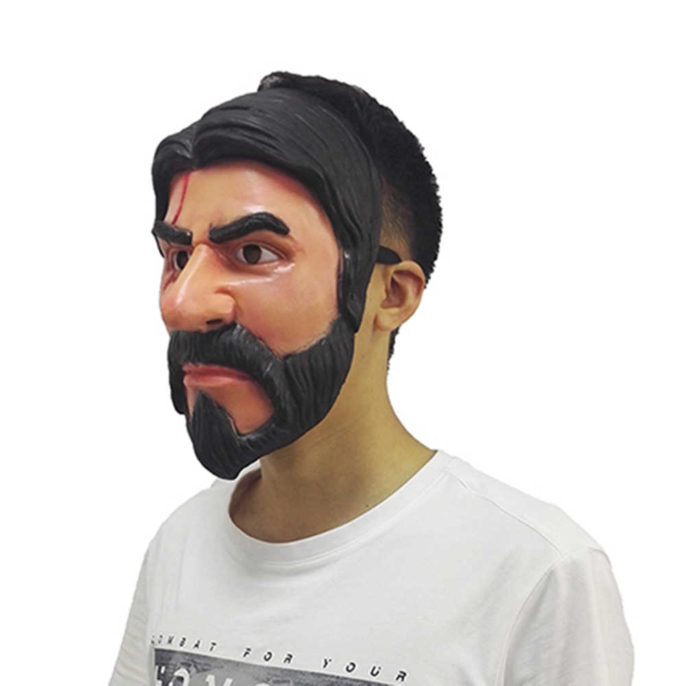 100 шт. оптовая продажа игры Косплэй обниматься Лидер команды маска John фитиль жнец маска Хэллоуин маски реалистичные человека маска