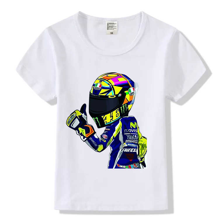 New children's clothing boys and girls T-shirt fashion T-shirt off-road motorcycle series printing children's T-shirt tops HY546