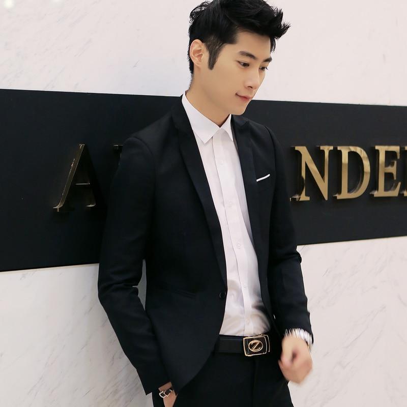 Fashion Custom made Jacket Formal Dress Mens Suit Set men casual ...
